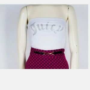 NWT Juicy Couture Cropped Top. SZ Small